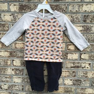 Tea Collection Southwestern Outfit Tee Pants